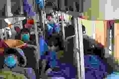 Bình Định: Phạt hơn 300 triệu đồng đối với các xe nhồi nhét khách