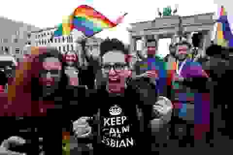 """Đức """"bật đèn xanh"""" cho hôn nhân đồng giới"""