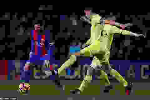 Messi giúp Barcelona may mắn giành điểm tại El Madrigal