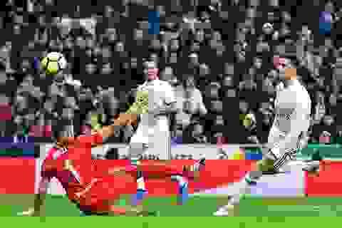 C.Ronaldo lập công, Real Madrid thắng đậm Sociedad