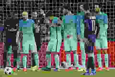 Chiêm ngưỡng siêu phẩm đá phạt của Di Maria vào lưới Barcelona