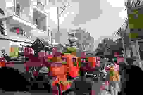 Liên tiếp xảy ra 3 vụ cháy chỉ trong buổi sáng