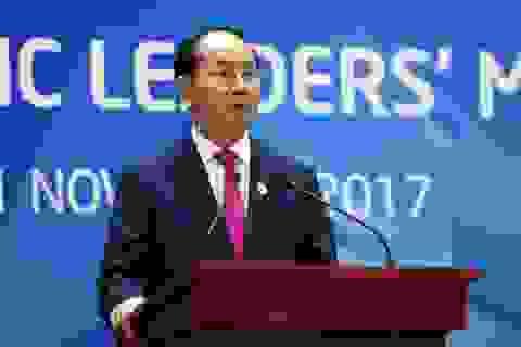 """Chủ tịch nước: """"Hội nghị Cấp cao APEC thành công tốt đẹp"""""""