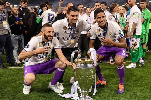 Cầu thủ Real Madrid hạnh phúc tột cùng trong ngày vô địch Champions League