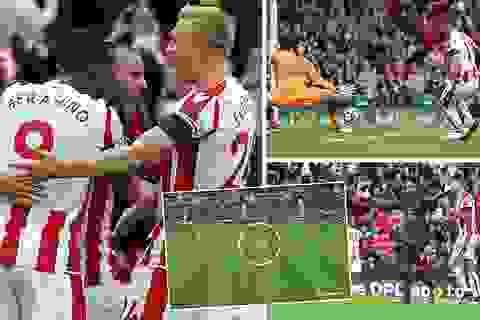 Hàng công vô duyên, Arsenal bất ngờ gục ngã trên sân Stoke