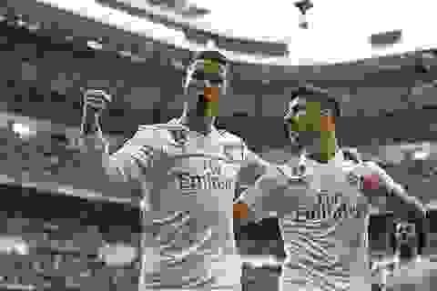 Real Madrid 5-0 Sevilla: Cú đúp của C.Ronaldo