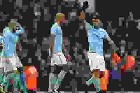Man City 4-0 Bournemouth: 17 chiến thắng liên tiếp