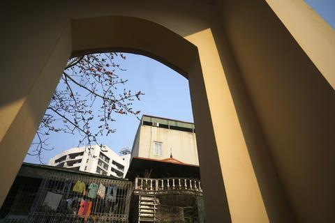 Ngắm hoa gạo đỏ rực trên phố phường Hà Nội