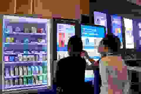 Thú vị với máy bán hàng tự động thanh toán bằng QR Pay