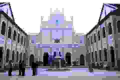 Tiểu chủng viện cổ kính bậc nhất Bình Định yên bình đón Noel