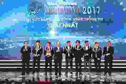 Những khoảnh khắc ấn tượng trong Lễ trao giải Nhân tài Đất Việt 2017
