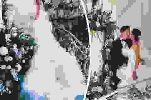 Hôn lễ xa hoa của blogger thời trang Hồng Kông gây choáng ngợp