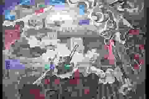 """""""Những năm tháng không quên"""" qua tranh của họa sĩ thời chiến"""
