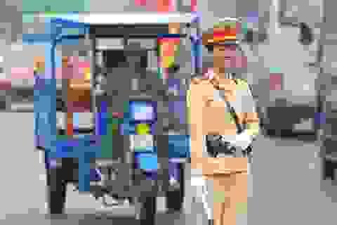 """Những """"bông hồng thép"""" trên đường phố Ninh Bình"""