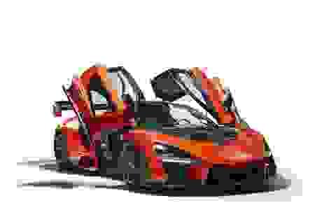 McLaren Senna - Xe đua đường phố công suất 789 mã lực