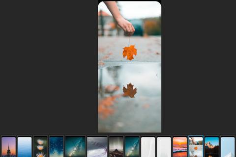 """Bộ ảnh nền tuyệt đẹp giúp che đi """"chỗ khuyết"""" trên iPhone X"""