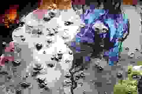 Phát hiện hàng trăm công trình cổ đại ở các miệng núi lửa Ả Rập