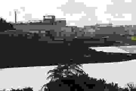 Bụi trắng từ Nhà máy alumin Nhân Cơ phát tán ra môi trường