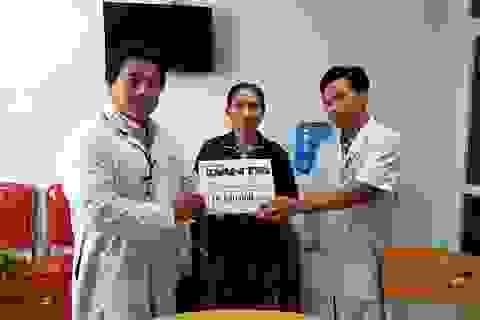 Gần 20 triệu đồng đến với người đàn ông mắc bệnh ung thư gan