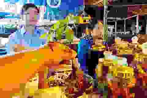 Mở chợ phiên bán sâm Ngọc Linh mỗi tháng một lần