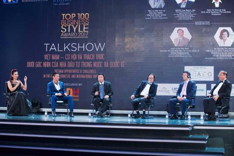 """CEO Công ty ACG Singapore nhận giải """"Nhà đầu tư quốc tế năng động tại Việt Nam"""""""