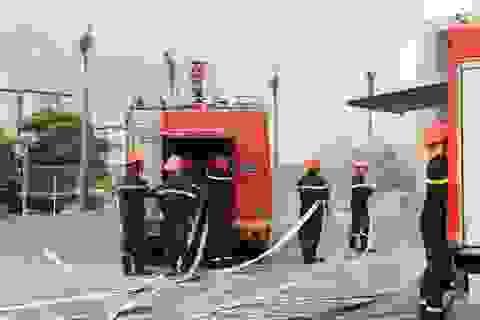 Diễn tập phương án phòng cháy chữa cháy tại chung cư Happy Star Tower