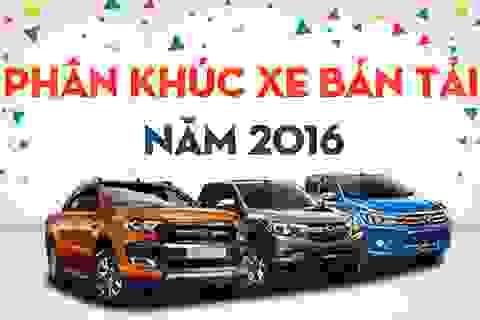 Xe nào được quan tâm nhất phân khúc bán tải tại Việt Nam?