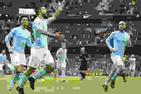Man City 3-0 Burnley: Thầy trò Guardiola bứt phá