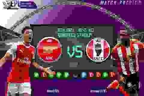 Arsenal - Sunderland: Bắt buộc phải thắng
