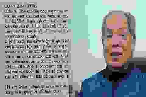 """Đề xuất """"Tiếng Việt"""" thành """"Tiếq Việt"""" vào đề thi Văn trường chuyên"""