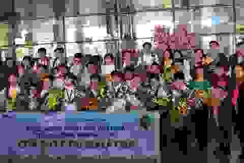 """Việt Nam đoạt 3 HCV Kỳ thi """"Thử thách nhà Toán học tương lai"""" 2017"""