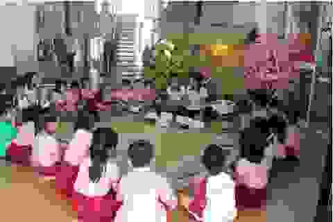 Dạy trẻ về Tết cổ truyền tại trường Saigon Academy