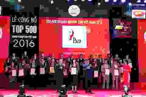 Pico tiếp tục lọt Top doanh nghiệp lớn Việt Nam