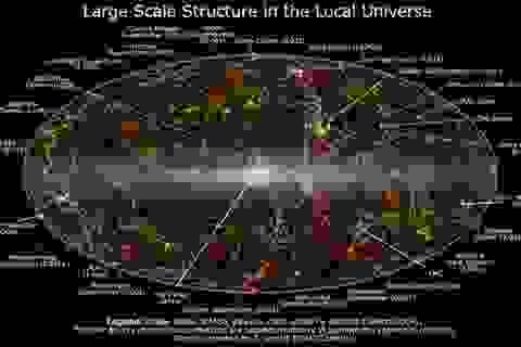 Công bố bản đồ lịch sử vũ trụ lớn nhất từ trước tới nay