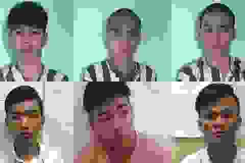 Băng cướp nhí gây ra 10 vụ cướp trong dịp Tết