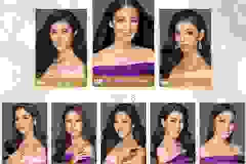 Lộ diện những gương mặt ấn tượng của Hoa hậu Hoàn vũ Việt Nam