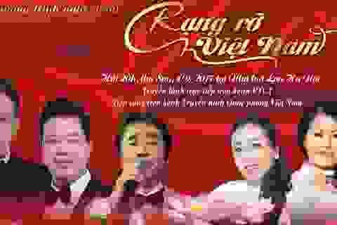 Rạng rỡ Việt Nam - Chương trình nghệ thuật kỷ niệm 72 năm Quốc khánh 2/9