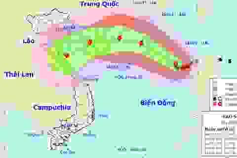 Bão số 11 được dự báo đổ bộ vào Thanh Hóa - Quảng Trị