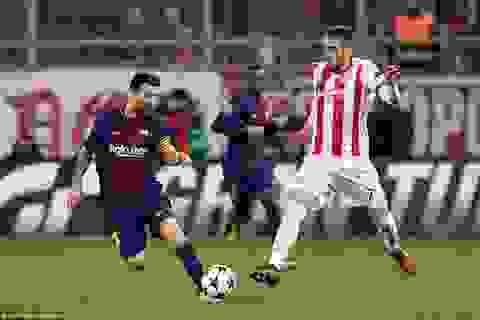 Messi và Suarez vô duyên, Barcelona chia điểm thất vọng tại Hy Lạp