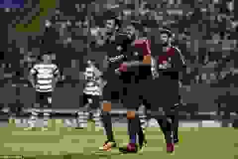 Barcelona hạ gục Sporting Lisbon trên đất Bồ Đào Nha