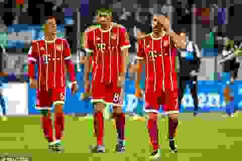 Bayern Munich bất ngờ thua sốc ở Bundesliga