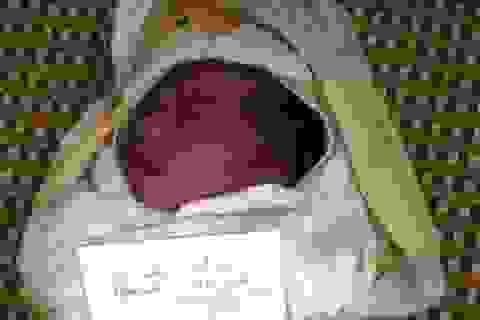 Bé trai sơ sinh bị bỏ rơi trước cổng trạm y tế