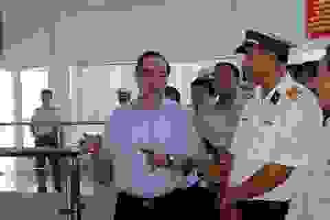 """Bí thư Nguyễn Thiện Nhân """"đặt hàng"""" giải pháp giảm ùn tắc cảng Cát Lái"""