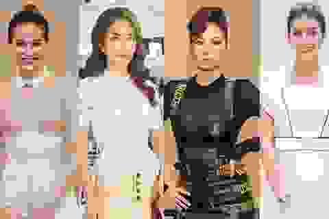 Thu Minh, Quỳnh Châu mặc đẹp nhất tuần; Hạ Vi gầy rộc sau scandal tình cảm