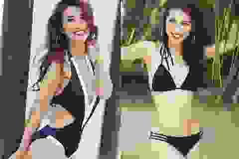 Tường Linh đánh dấu bước trưởng thành bằng bộ ảnh bikini nóng bỏng