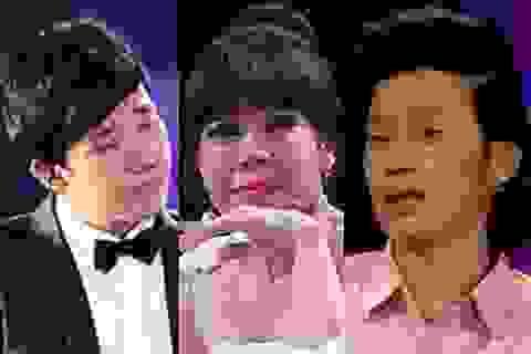 """Những nghệ sĩ """"mau nước mắt"""" nhất của showbiz Việt"""