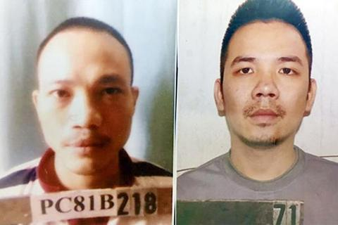 Hai tử tù bỏ trốn khỏi phòng biệt giam