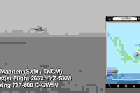 """Thót tim cảnh Boeing 737 chở gần 200 hành khách suýt """"hạ cánh nhầm"""" xuống biển"""