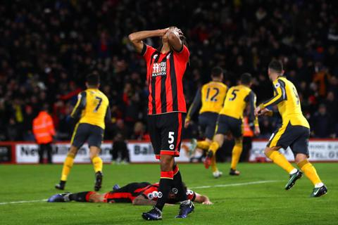 Nhìn lại trận hòa may mắn của Arsenal trên sân Bournemouth