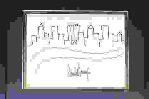 Bức ký họa của Tổng thống Trump có giá khởi điểm 9.000 USD